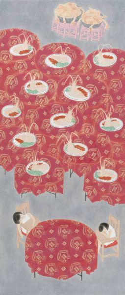葉采薇-蝦爆的宴席