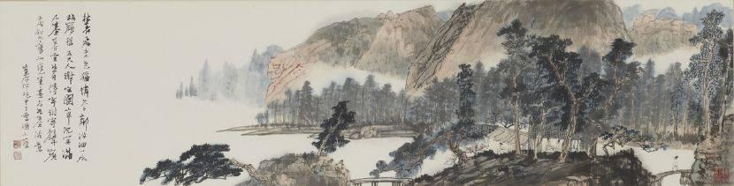 江兆申-山水圖