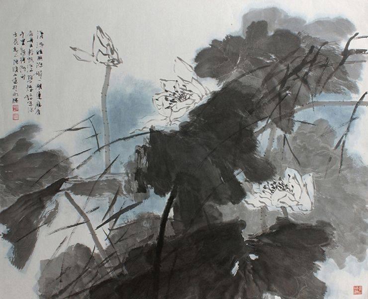 陶晴山-荷花