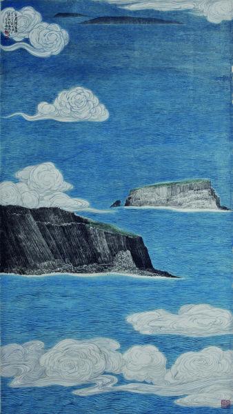 李義弘-雲過積善嶼