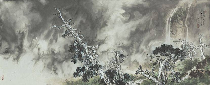 張伸熙-老幹懸霜