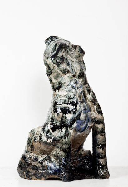 呂淑珍-虎斑犬