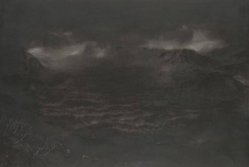廖鴻興-月照古殿