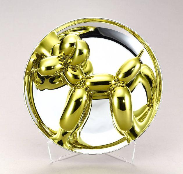 傑夫昆斯-Balloon Dog (Yellow) 氣球狗 (黃金)