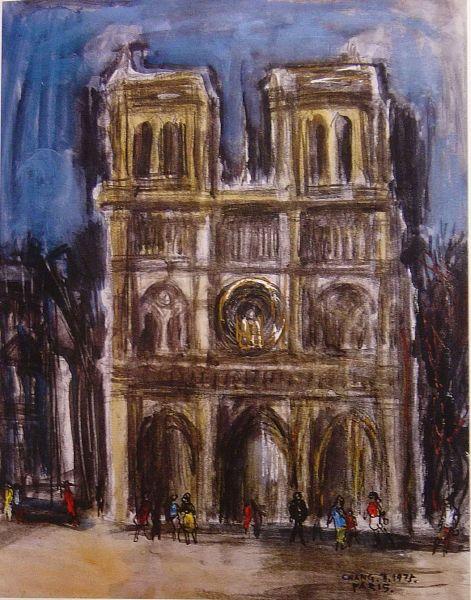 張萬傳-巴黎聖母院