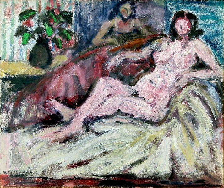 張萬傳-畫室的裸女