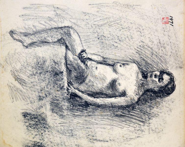 洪瑞麟-裸女