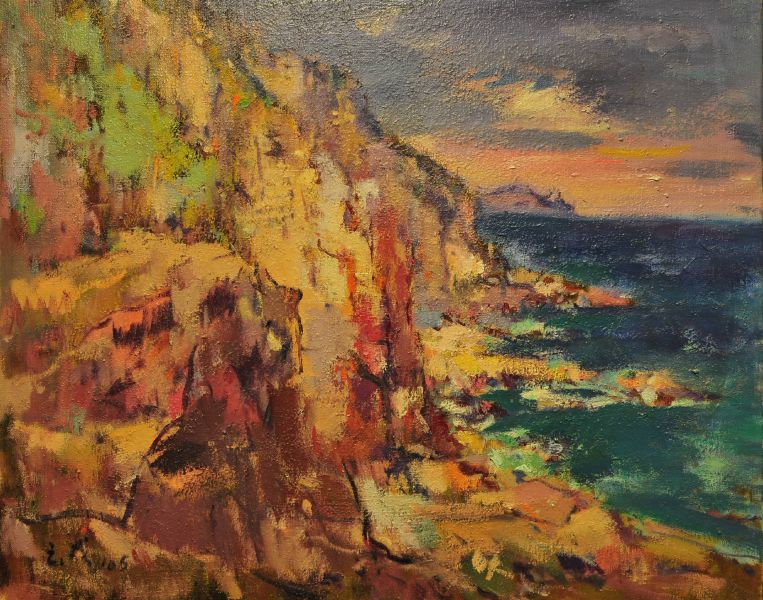 黃玉成-龍洞崖