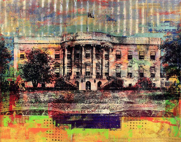 胡本.切克勒夫-$20 Dollars White House