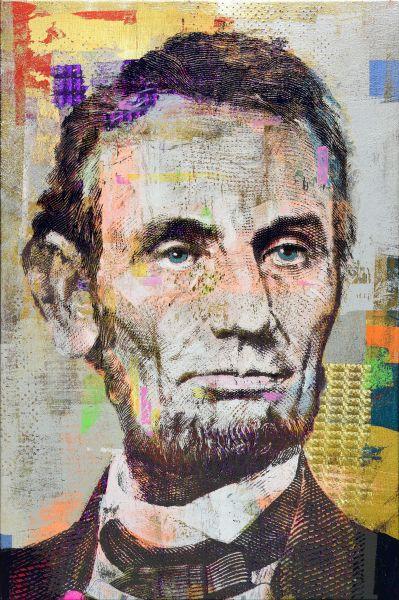 胡本切克勒夫-5 Dollars Abe Lincoln