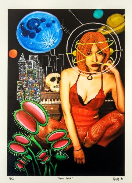 黎橘-Space Girl