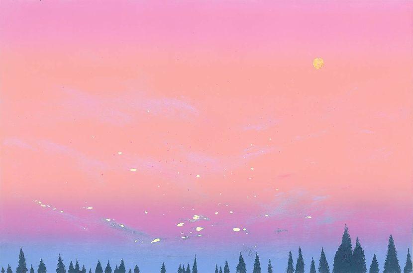 游雅蘭-粉紅月亮