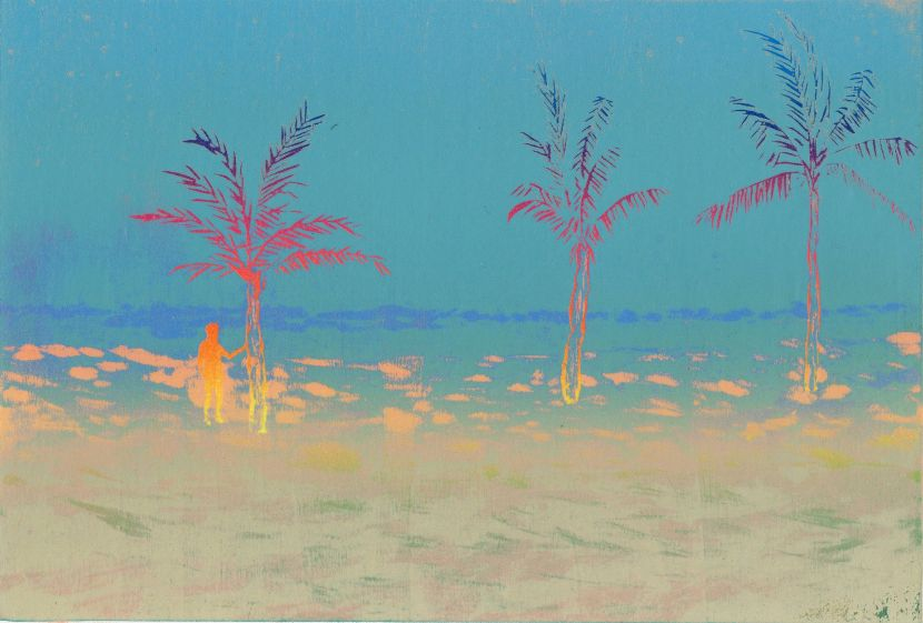 游雅蘭-海灘
