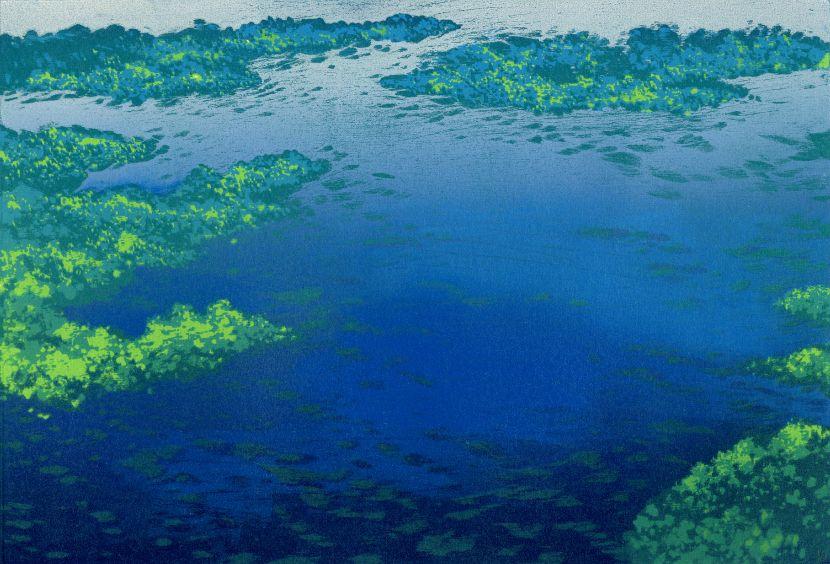 游雅蘭-湖景