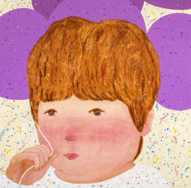 羅喬綾-紫色氣球