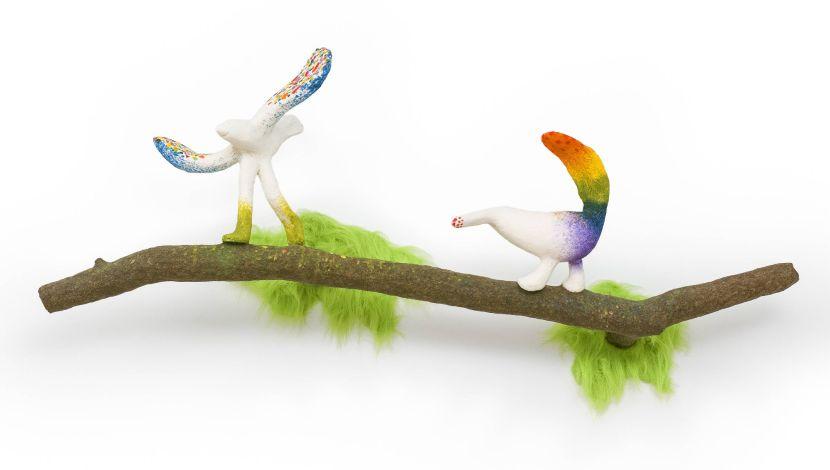 蔡潔莘-彩虹雨村落的鳥兒們 III