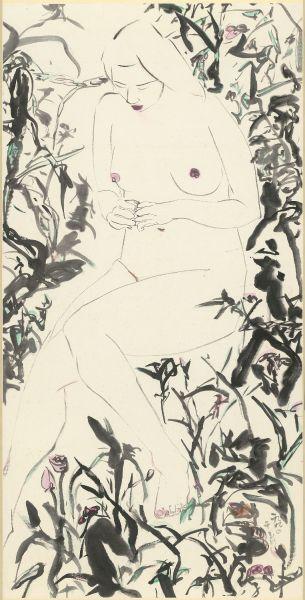 于彭-裸婦  Nude