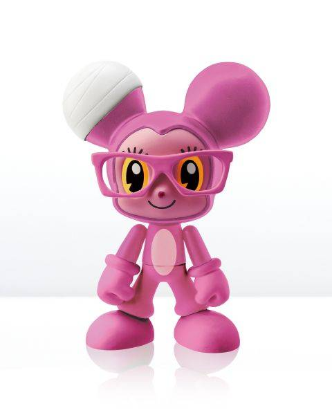 不二良-小鼠變裝系列-粉紅小鼠