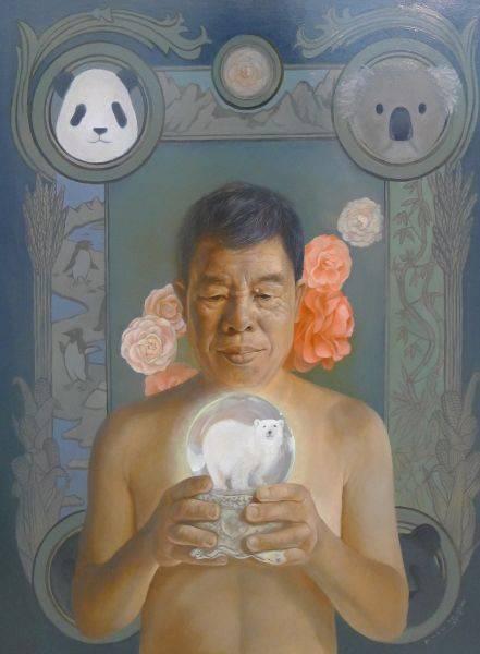 吳嘉綺-魔幻水晶球 III — 北極熊