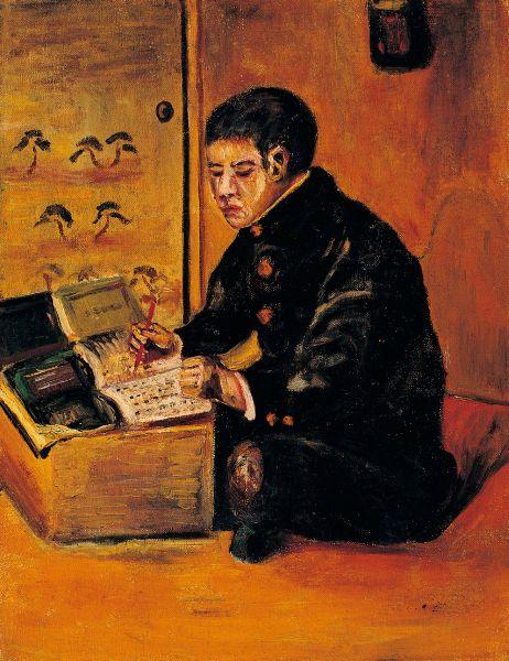 陳澄波-讀書