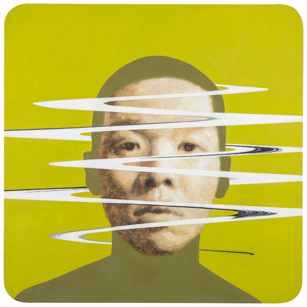 林宏信-裂解人肖像II
