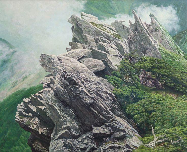 劉得浪-巉巖 (中央尖山)