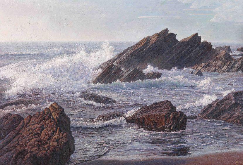劉得浪-北海岸礁岩