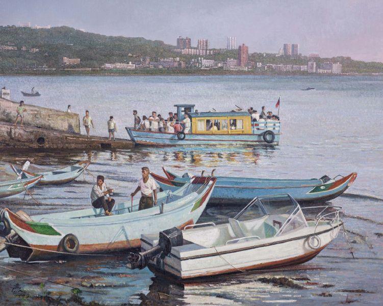 劉得浪-淡水渡輪