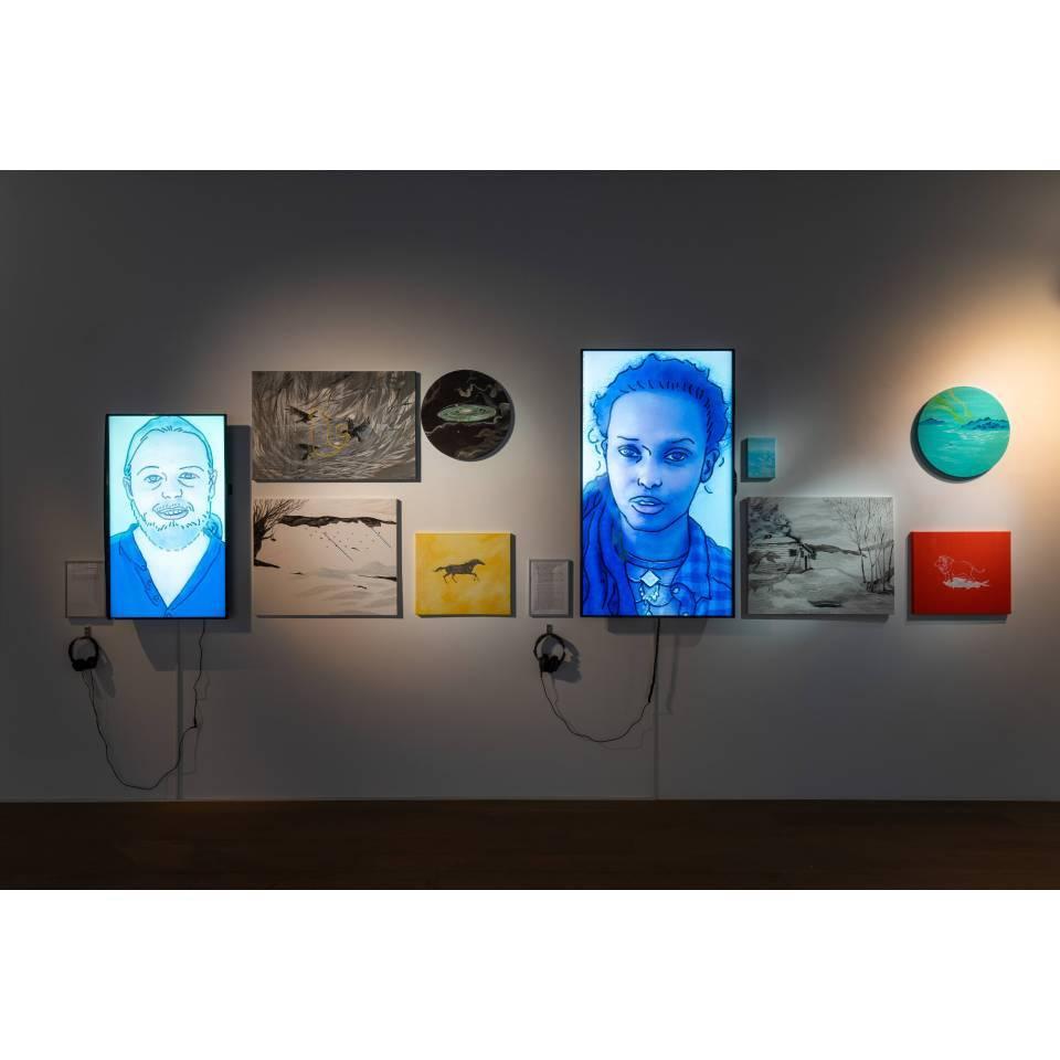 2018 「進入世界系-地球防衛少年」,尊彩藝術中心,台北,台灣
