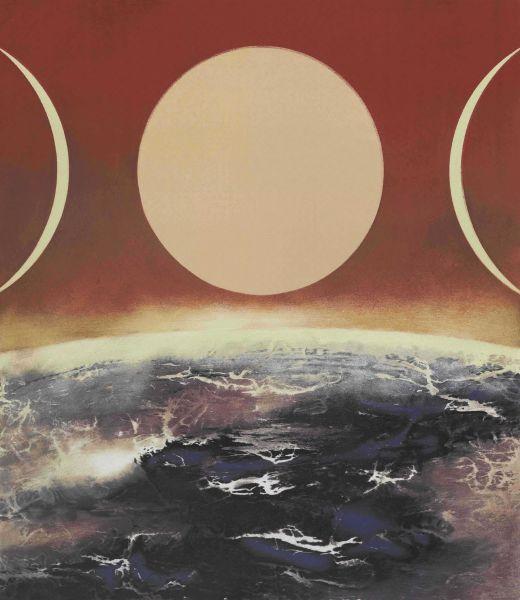 劉國松-宇宙的構成