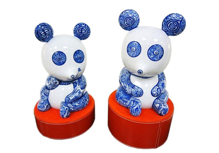 洪易-青花熊貓
