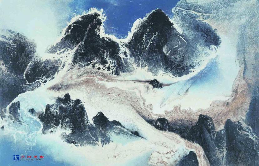 劉國松-雲水一家