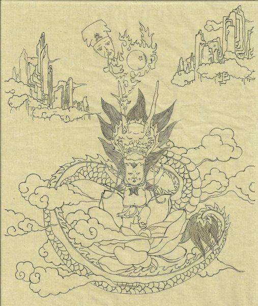 詹邠-龍的傳人