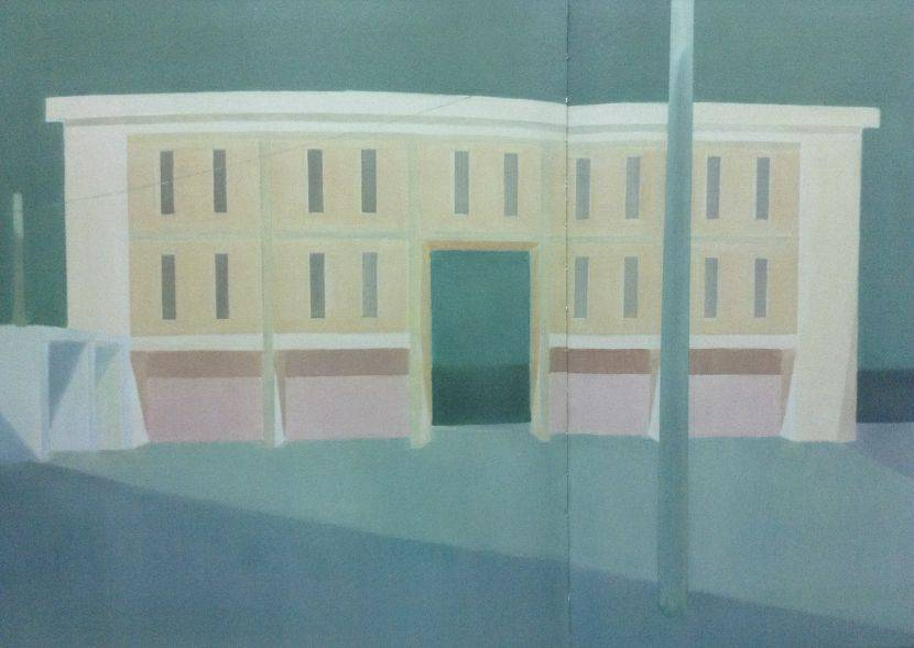 李檬-薄得像紙片的房子