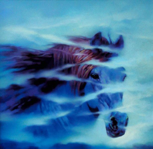 馬東民-藍馬之三
