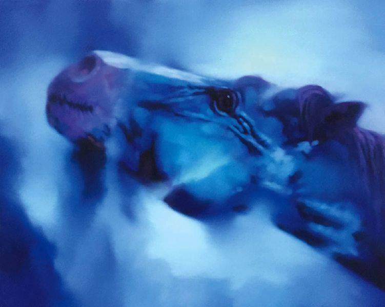 馬東民-藍馬之二