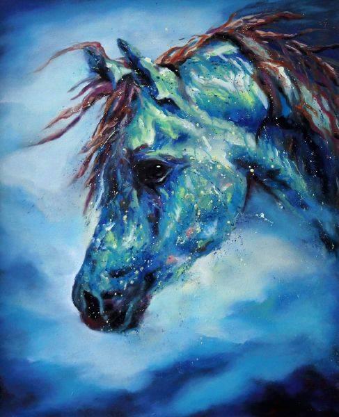 馬東民-藍馬之十