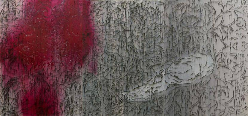 謝鴻均-繆纏之四 Wrapped in Patterns IV