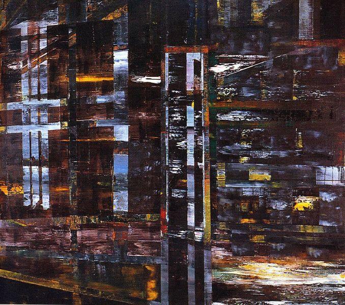 池農深-具體的抽象空間42x49