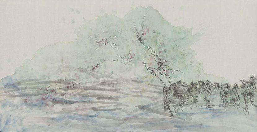 許雨仁-彩墨系列之二十二