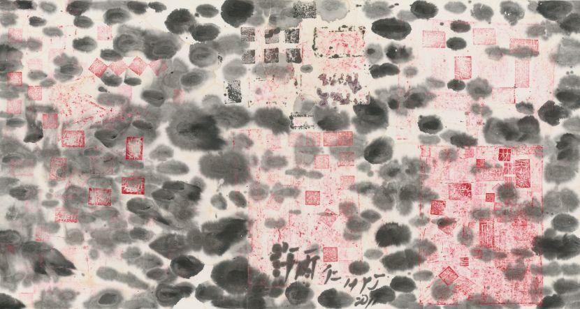 許雨仁-彩墨系列之六十四