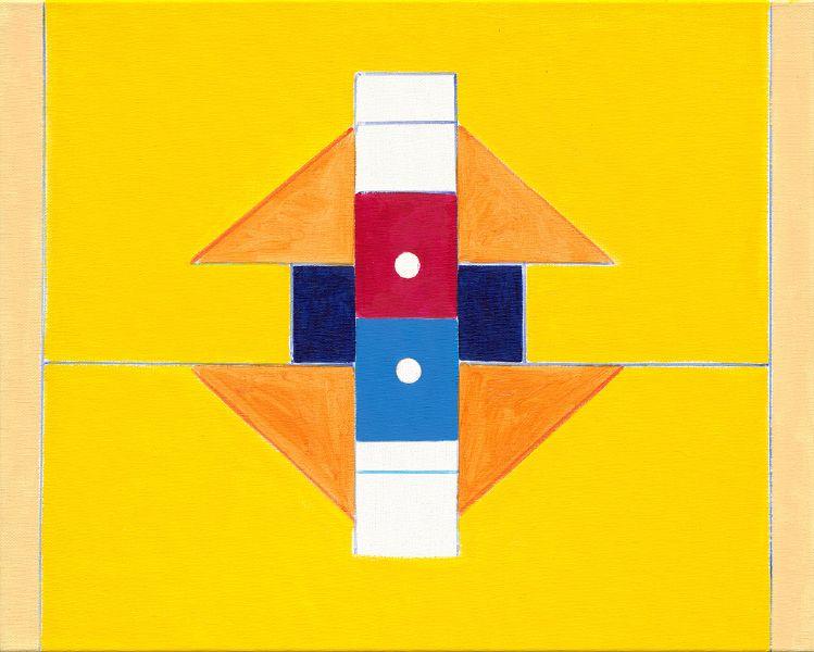 霍剛-抽象2019-027  Abstract 2019-027