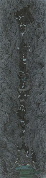 鄧卜君-寒岩清澗 Clear Stream in a Cold Ravine