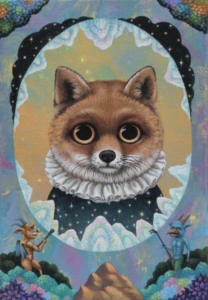 張嘉穎-沉思宇宙的狐狸一號 Fox No. 1 Contemplating on the Universe
