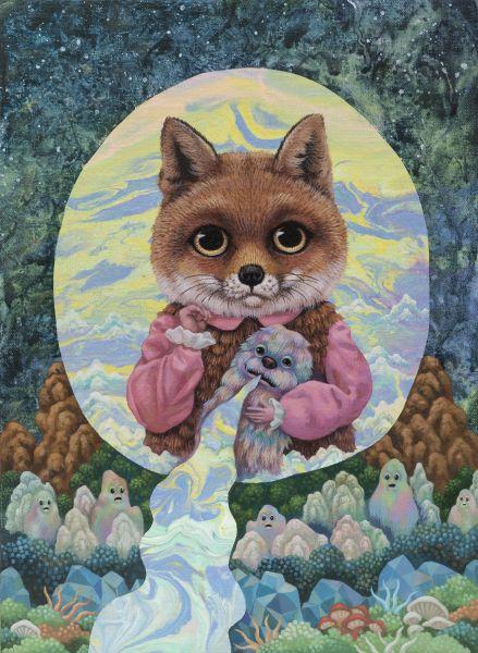 張嘉穎-沉思宇宙的狐狸四號 Fox No. 4 Contemplating on the Universe