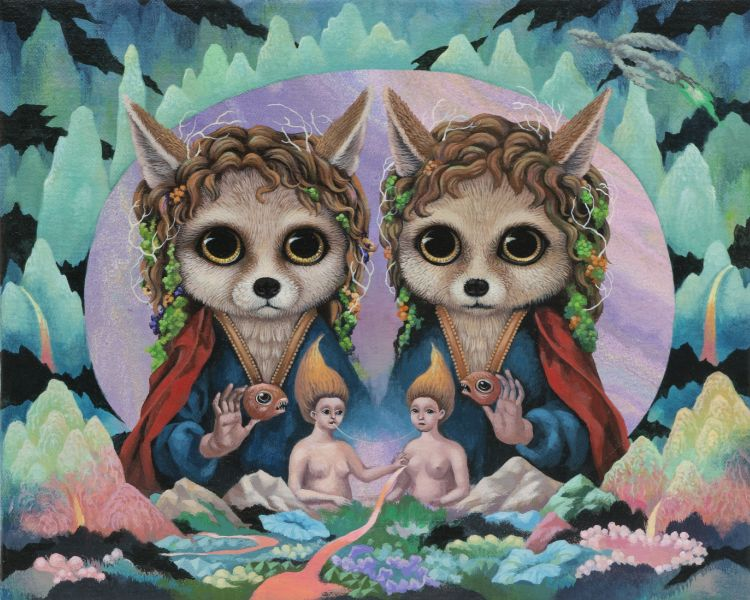張嘉穎-白狐幻象森林 Illusionary Forest of White Foxes