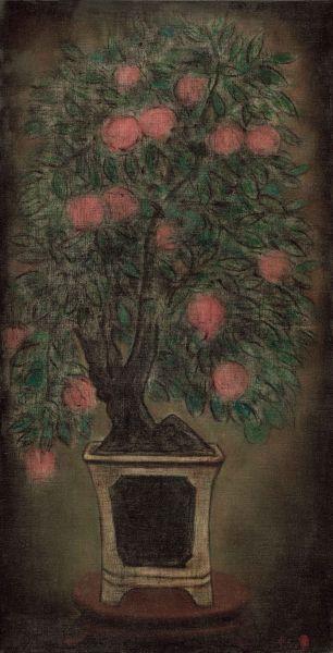 陳承衛-盆景-1 Landscape in a Bonsai Pot-1