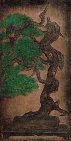 陳承衛-盆景-5 Landscape in a Bonsai Pot-5