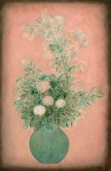 陳承衛-瓶花-1 Flowers in a Vase-1
