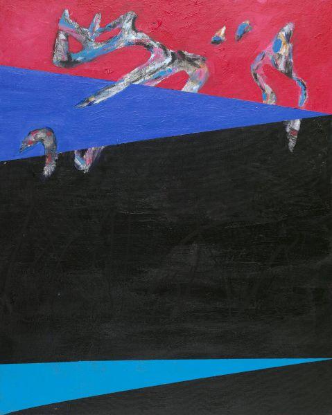 鐘俊雄-紅·藍·黑 Red, Blue, Black